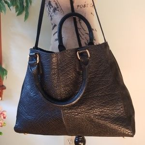 Zara Leather Totes Bag